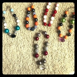 Other - Lot of 5 Girls Bubblegum Necklaces
